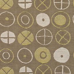 Circles 001 Khaki | Stoffbezüge | Maharam