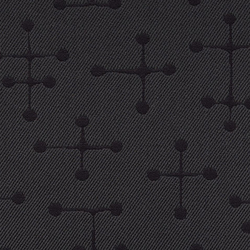 Small Dot Pattern 005 Charcoal | Stoffbezüge | Maharam