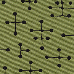 Small Dot Pattern 009 Green | Stoffbezüge | Maharam