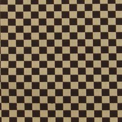 Checker 007 Siena Dark/Khaki | Upholstery fabrics | Maharam