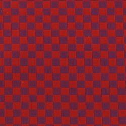 Checker 006 Crimson/Violet | Upholstery fabrics | Maharam