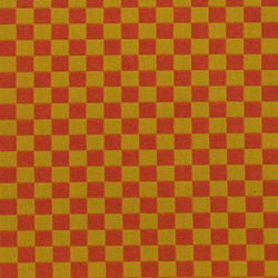 Checker 003 Red/Gold | Fabrics | Maharam