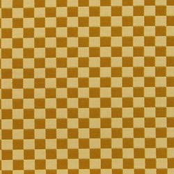 Checker 002 Gold/Cream | Fabrics | Maharam