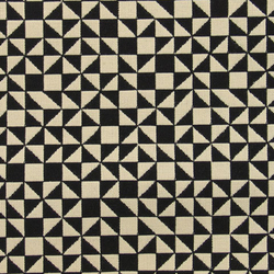 Checker Split 001 Black/White | Stoffbezüge | Maharam