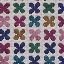 Quatrefoil 003 Crimson | Fabrics | Maharam