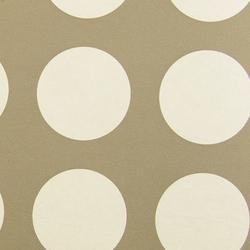 Circles 006 White On Raw Umber | Wall coverings | Maharam