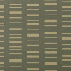 Roman Stripe 001 Raw Umber On Dark Grey | Wall coverings | Maharam