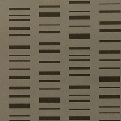 Roman Stripe 002 Black On Dark Grey | Wall coverings | Maharam