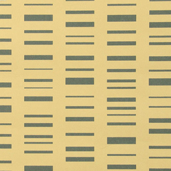Roman Stripe 003 Grey On Light Ochre | Wall coverings | Maharam