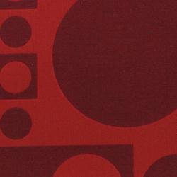 Geometri 002 Red/Carmine | Tissus | Maharam