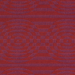 Optik 002 Fuchsia/Red | Fabrics | Maharam