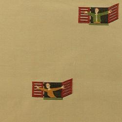 I Morosi alla Finestra 002 Grana | Curtain fabrics | Maharam