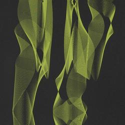 Replicant Phosphorus wallcovering | Papiers peint | Wolf-Gordon