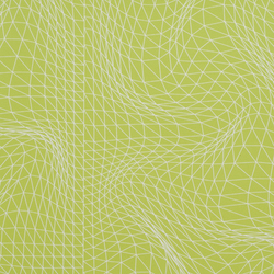 Flexuous K Green wallcovering | Carta da parati | Wolf-Gordon