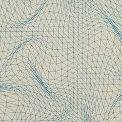 Flexuous Blueline wallcovering | Papeles pintados | Wolf-Gordon