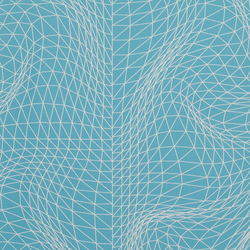 Flexuous Cyan wallcovering | Wallcoverings | Wolf-Gordon