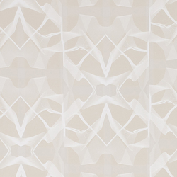 Spacewarp Nutral wallcovering | Papeles pintados | Wolf-Gordon