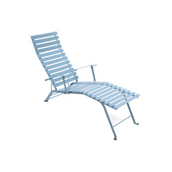 Bistro Adjustable Chaise Longue | Sun loungers | FERMOB