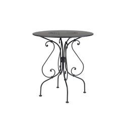 1900 Pedestal Table 67cm | Cafeteria tables | FERMOB