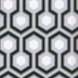 Hick's Hexagon 66-8055 Tapete | Wandbeläge / Tapeten | Cole and Son