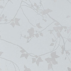 Briar duck egg/silver wallpaper | Carta da parati | Clarissa Hulse