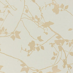 Briar spring green/pewter wallpaper | Wall coverings / wallpapers | Clarissa Hulse