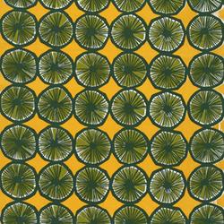 Appelsiini 260 interior fabric | Tessuti tende | Marimekko