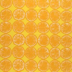 Appelsiini 221 interior fabric | Curtain fabrics | Marimekko