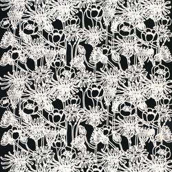 Englantilainen Puutarha 910 | Curtain fabrics | Marimekko