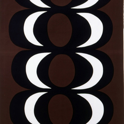 Kaivo brown interior fabric | Curtain fabrics | Marimekko