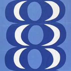Kaivo blue interior fabric | Curtain fabrics | Marimekko