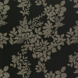Kukkula black interior fabric | Curtain fabrics | Marimekko