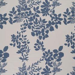 Kukkula blue interior fabric | Curtain fabrics | Marimekko