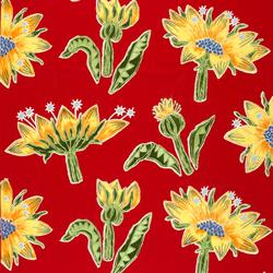 Kumma Juttu red interior fabric | Tejidos decorativos | Marimekko