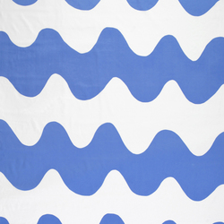 Lokki blue interior fabric | Tessuti tende | Marimekko