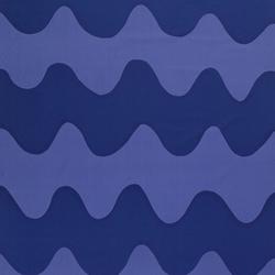Lokki blue/blue interior fabric | Drapery fabrics | Marimekko