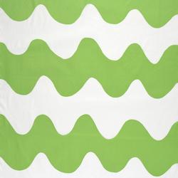 Lokki green interior fabric | Drapery fabrics | Marimekko