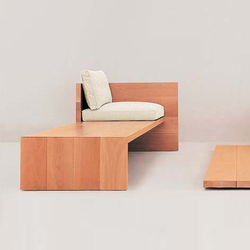 Le Foglie bench | Upholstered benches | Dema