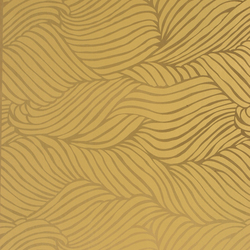 Sheba gold wallpaper | Wall coverings | Flavor Paper