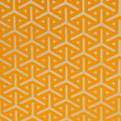 Vapor tangerine wallpaper | Wall coverings / wallpapers | Flavor Paper