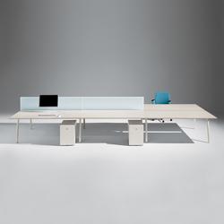 MDL System | Desking systems | UniFor
