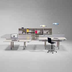 iSatelliti S/200.90 | Systèmes de tables de bureau | UniFor