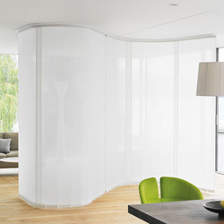 Panel Glide System Silent Gliss 2730 Flex | Room dividers | Silent Gliss