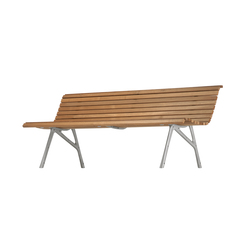 teak bench 480 | Garden benches | Alias