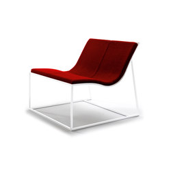 Holy Day lounge chair | Poltrone lounge | viccarbe