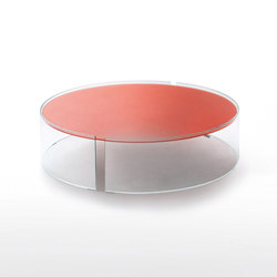 Split tavolini basso | Lounge tables | Glas Italia