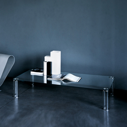Pipeline low table | Couchtische | Glas Italia