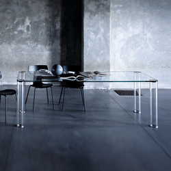 Pipeline table | Mesas comedor | Glas Italia
