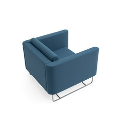 Pacific Armchair | Fauteuils d'attente | +Halle