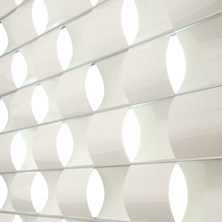 Ripple | Ceiling panels | Wovin Wall